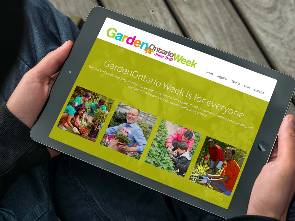 Branding and Online Marketing for the Ontario Horticultural Association.